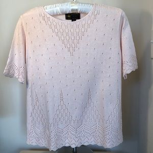 Brooks Brothers Pink Sweater